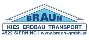 Kies Transport Erdbau Braun Sierning