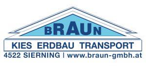 Kies Transport Erdbau Braun Sierning